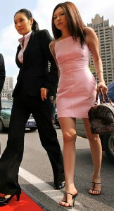 Mrs Wu, une des femmes les plus riches de Chine